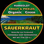Organic Green Sauerkraut