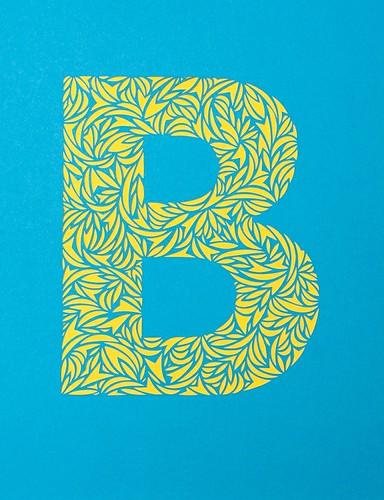 Custom paper cut letters