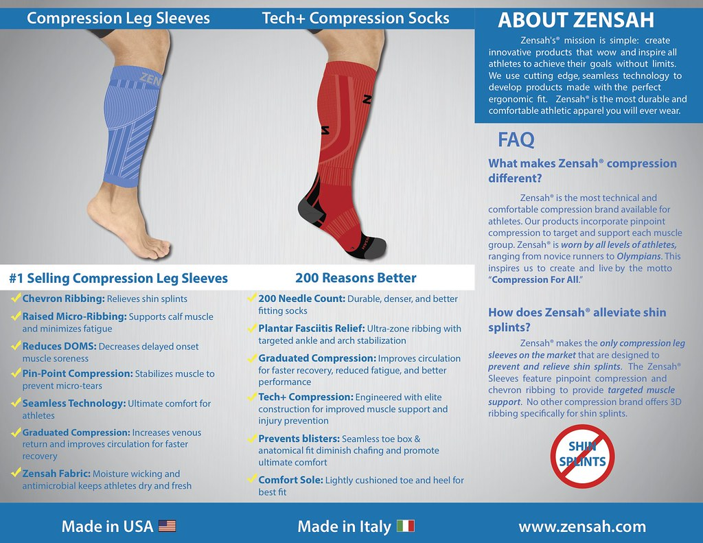Run Longer and Safer with Zensah Compression Gear   Franc ...