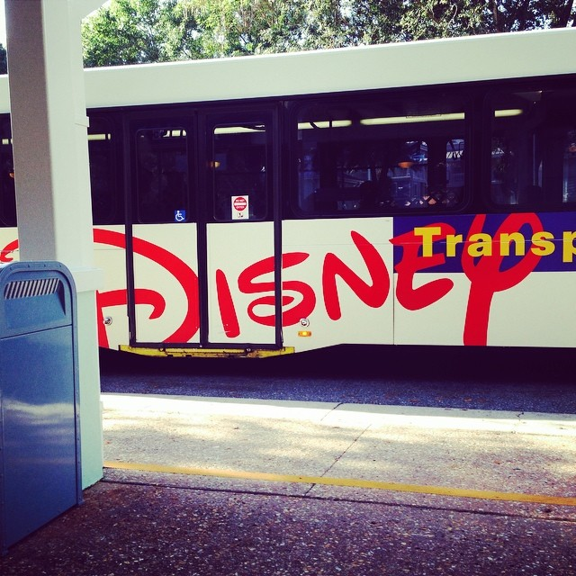 Can't wait to get a car. The buses are a bit of a joke!! #dinearounddisney2014 #tppb #day3