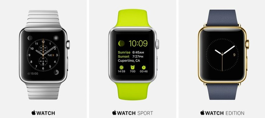 Apple Unveiled Watch 1