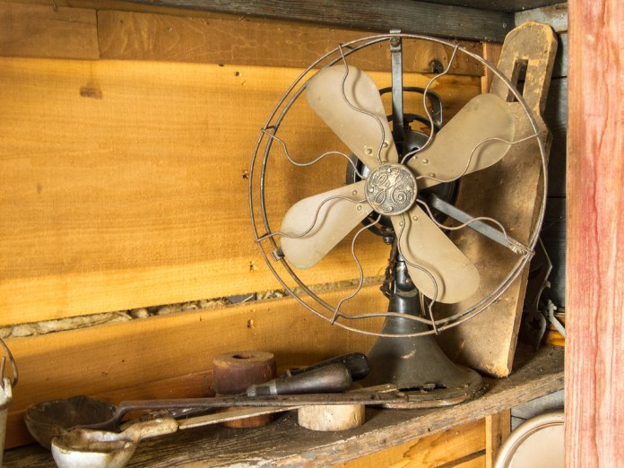 Still life with fan *EXPLORED*