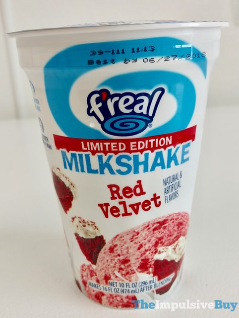 F'real Limited Edition Red Velvet Milkshake