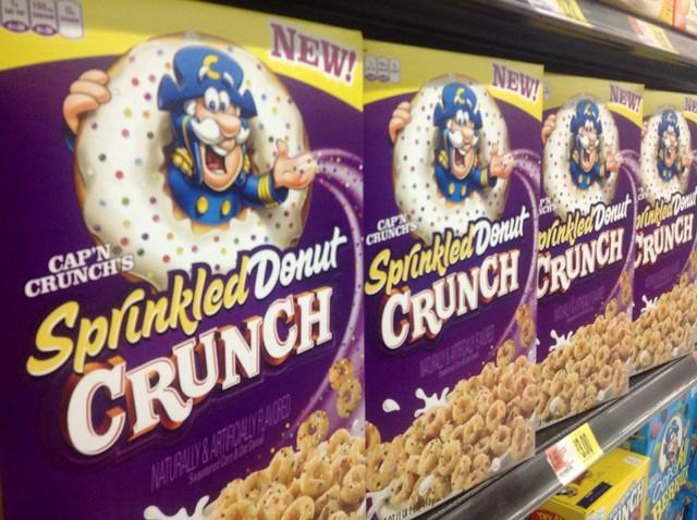 Capn Crunch Sprinkled Donut Crunch Flickr Photo Sharing