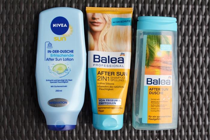 Aufgebraucht_Nr_5_04_Nivea In der Dusche After Sun Lotion_Balea After sun Shampoo Dusche