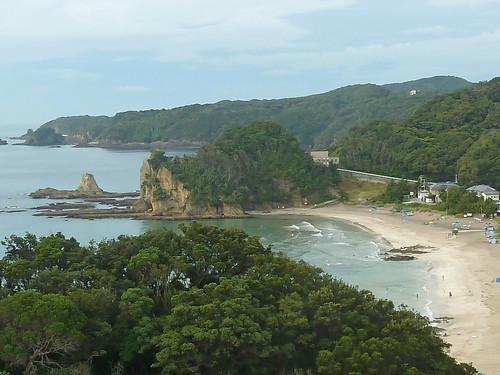 Iritahama Beach at Shimoda, Shizuoka, Japan