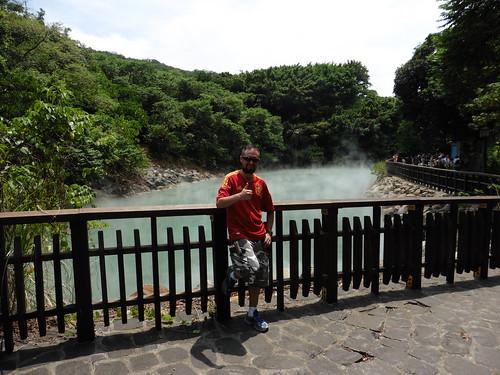 Beitou y Millenium Hot Spring (baños y aguas termales) en Taipei.