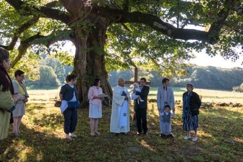 Baptism ceremony