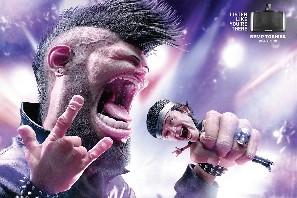 Semp Toshiba - Punk Rocker