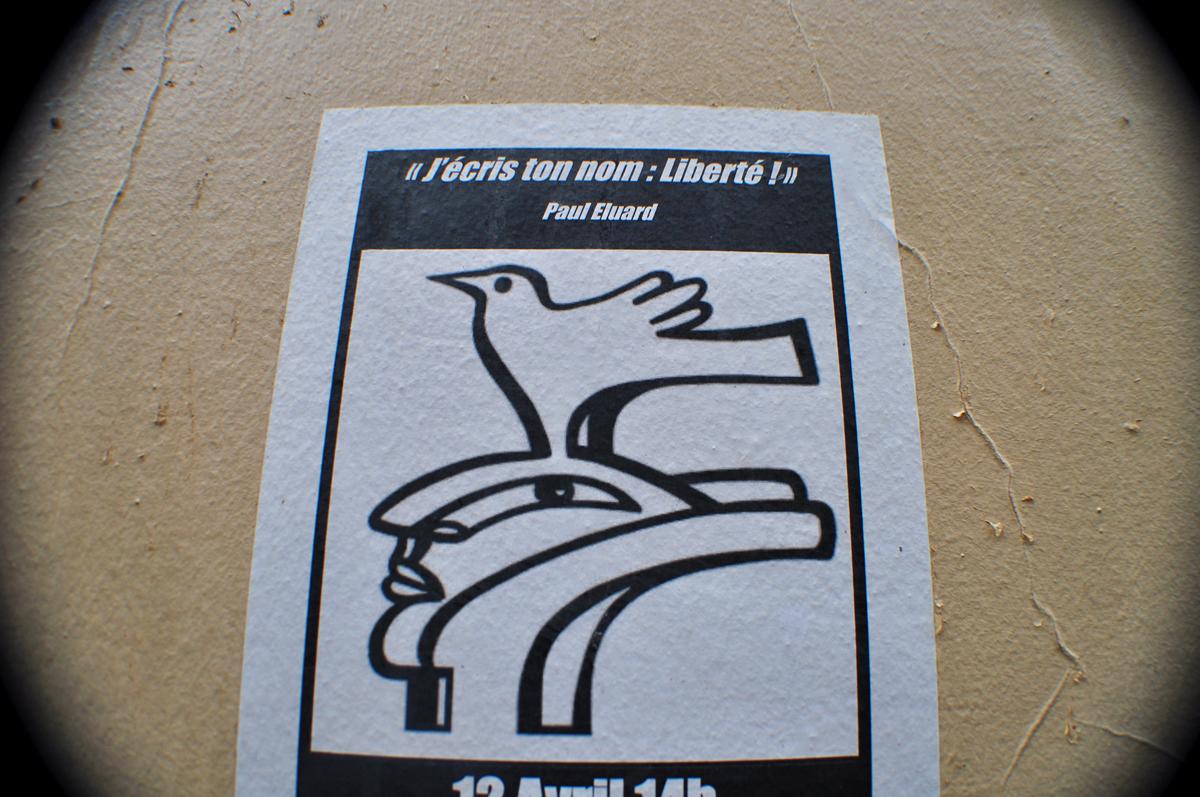 J'écris ton nom Liberté !