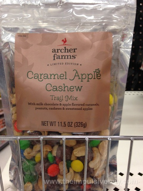 Archer Farms Limited Edition Caramel Apple Cashew Trail Mix