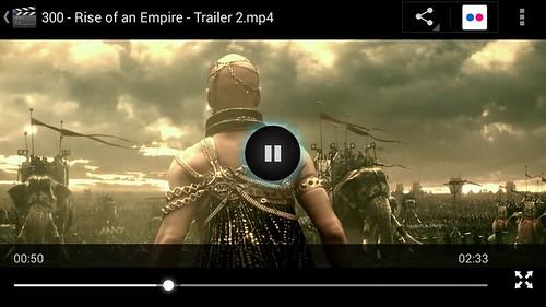 ดูคลิป 1080p บน Doogee Valencia