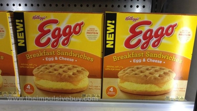 Kellogg's Eggo Egg & Cheese Breakfast Sandwiches