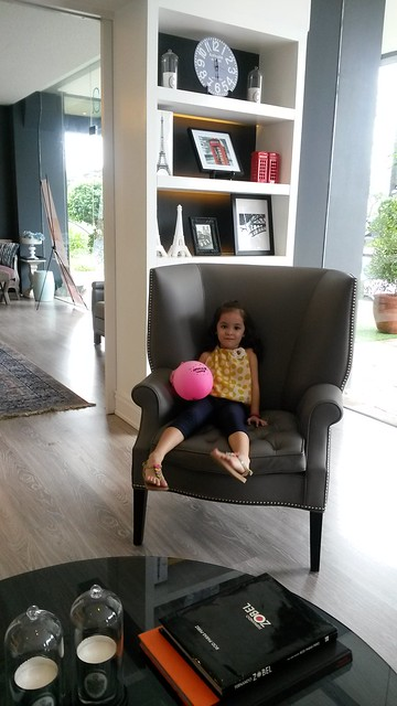 Lucy in chair