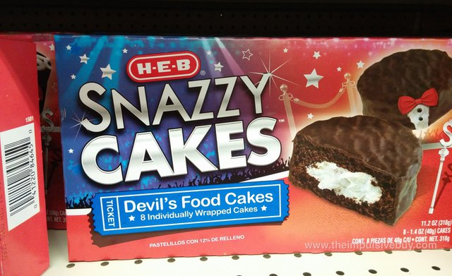 H-E-B Snazzy Cakes Devil's Food Cakes