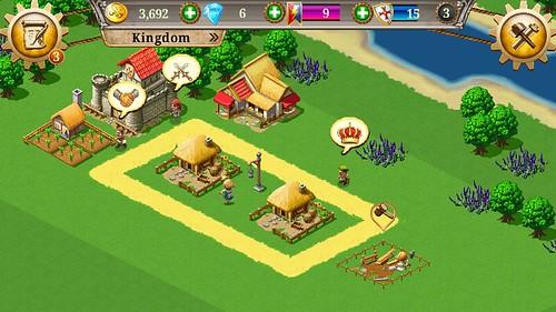 เกม Kingdoms and Lords ที่มากับ Alcatel OneTouch Pop C7