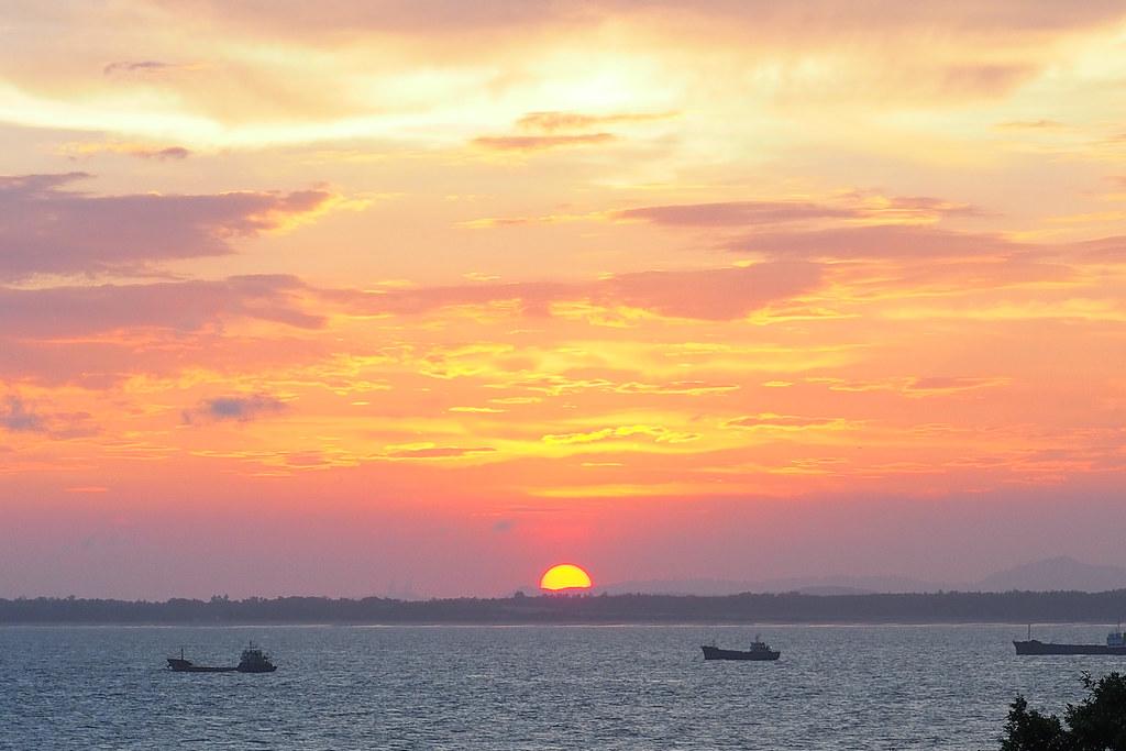 金門縣的日出日落時間表