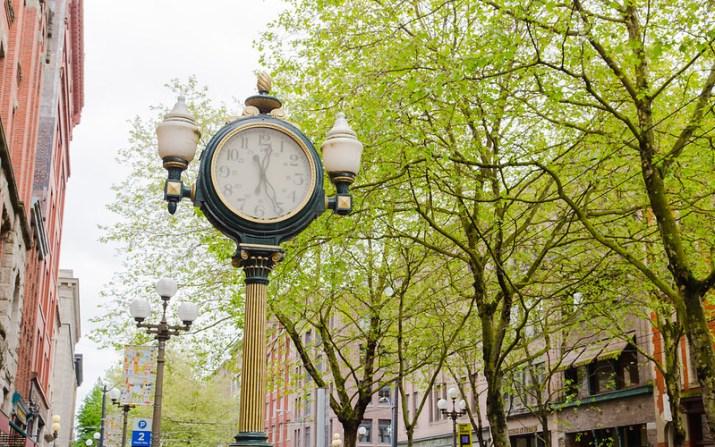Earl Layman Street Clock