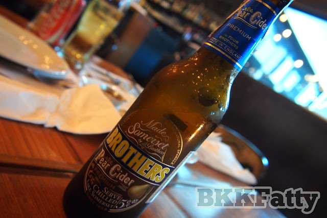 four brothers pear sider craft beer