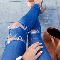 [DIY] Jeans bụi bậm