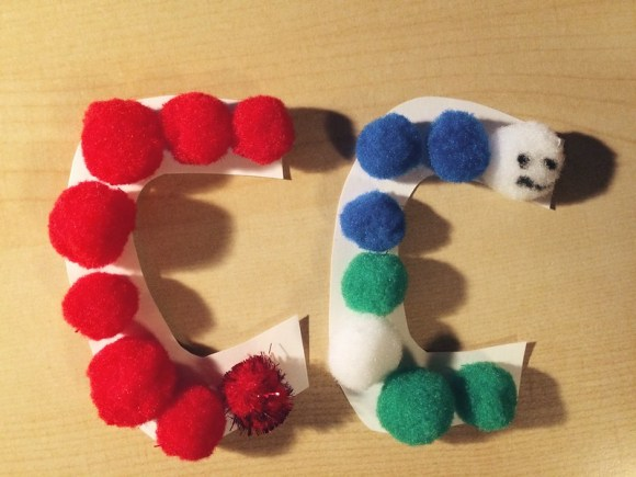 C is for Caterpillar (10/1/14)