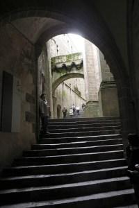 escalier du Mont Saint-Michel
