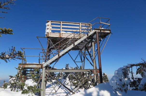Mt Carrigain Summit Tower