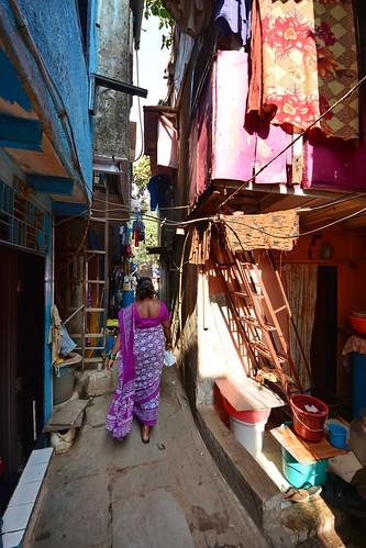 India - Maharashtra - Mumbai - Dharavi Slum - 7