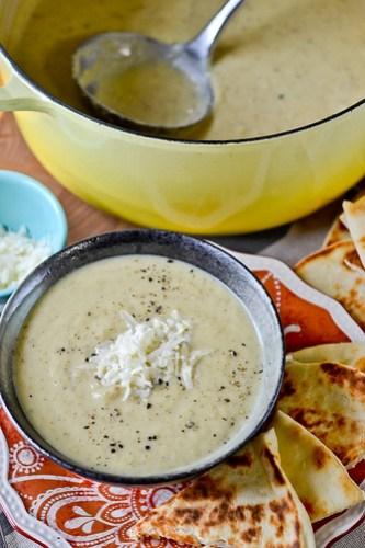Roasted Cauliflower Soup-11