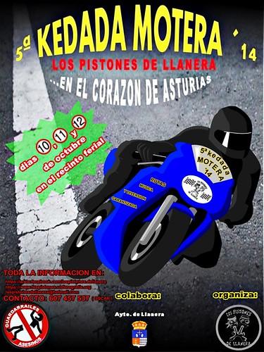 5ª kedada motera Los Pistones de Llanera