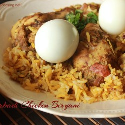 Hyderabadi chicken biryani1