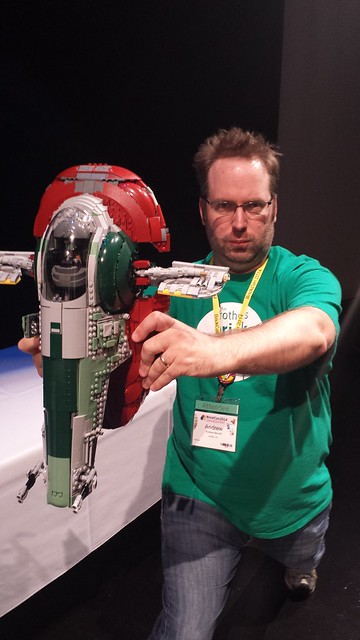 Andrew swooshes the slave 1