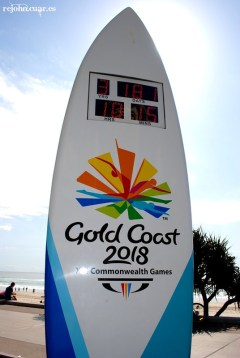 Commonwealth games 2018 countdown