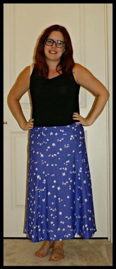 Purpley skirt