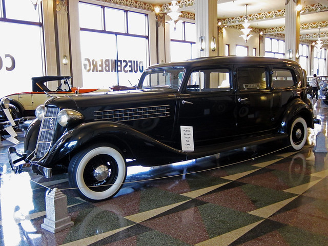 1936 Auburn hearse