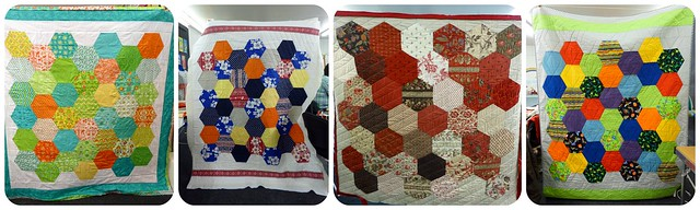 Hexie Quilts class
