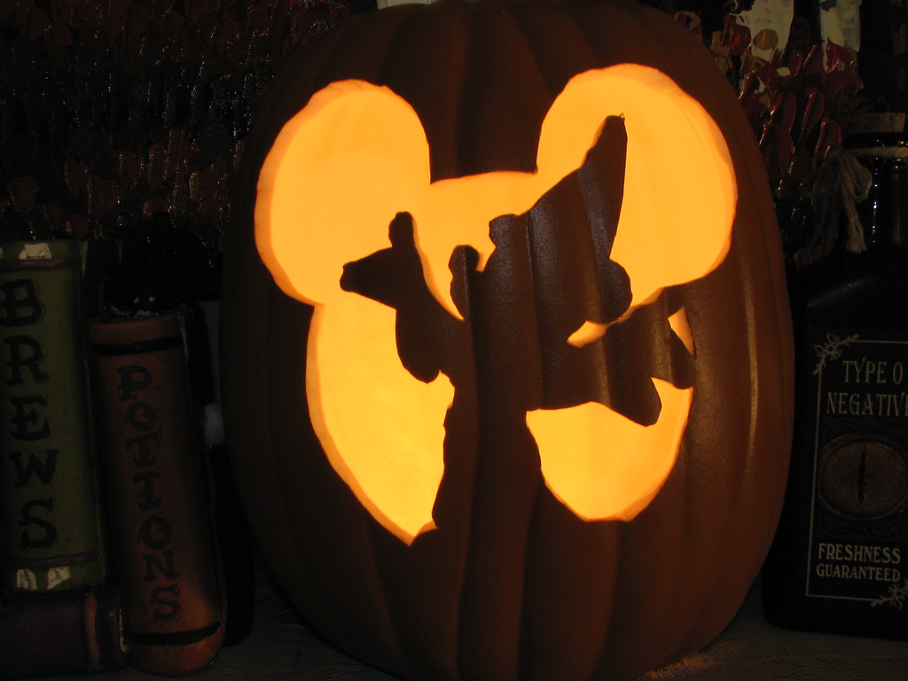 Mickey Mouse Pumpkin Carving Templates