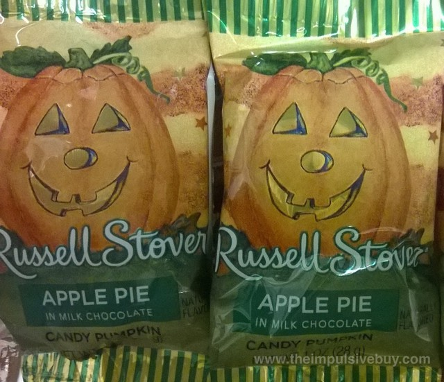 Russell Stover Apple Pie Candy Pumpkin