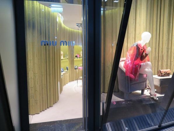 Miu Miu store at Pavillons de Monte Carlo