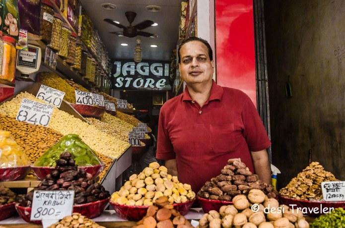 Dry fruit shop Khari Baoli Old Delhi 6