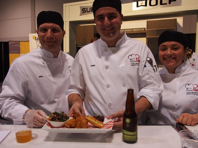 St. Pius Culinary team present Wild Fried Chicken