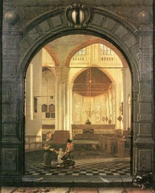 Oude Kerk, Delft | interior