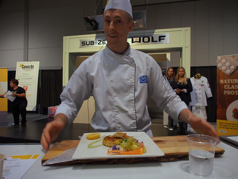 George Brown presents Herbed Ling Cod Cakes with Crisp Potato Rosti & Caper Remoulade