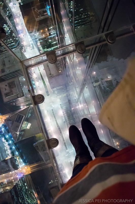 My Feet on Skydeck
