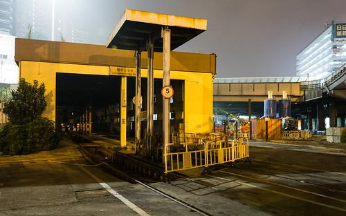 機車行車室 Locomotive running shed