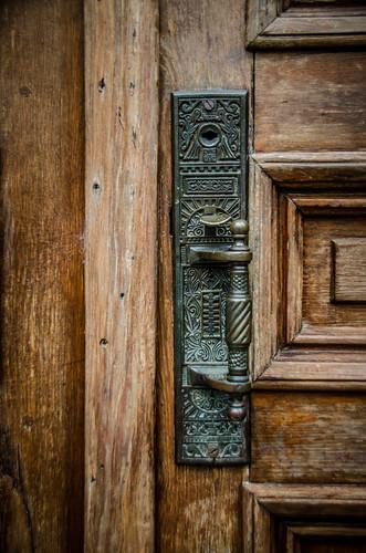 Madison School Door
