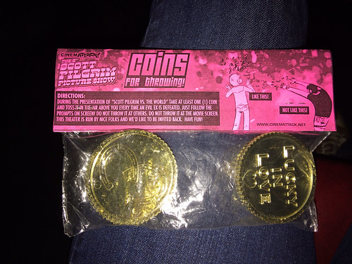 Coins for throwing!