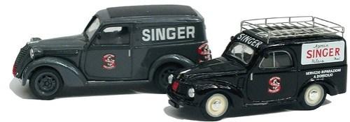 Brumm Fiat 1100 e Topolino Singer