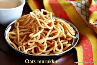 Oats-murukku