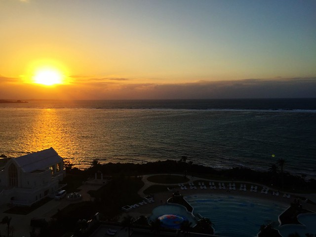 iPhone6で撮る夕日